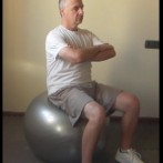 Pelvic Thrust on an Exercise Ball