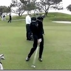 Adam Scott Golf Swing Video – 2013, Face On View, 300fps Slow Motion, Iron