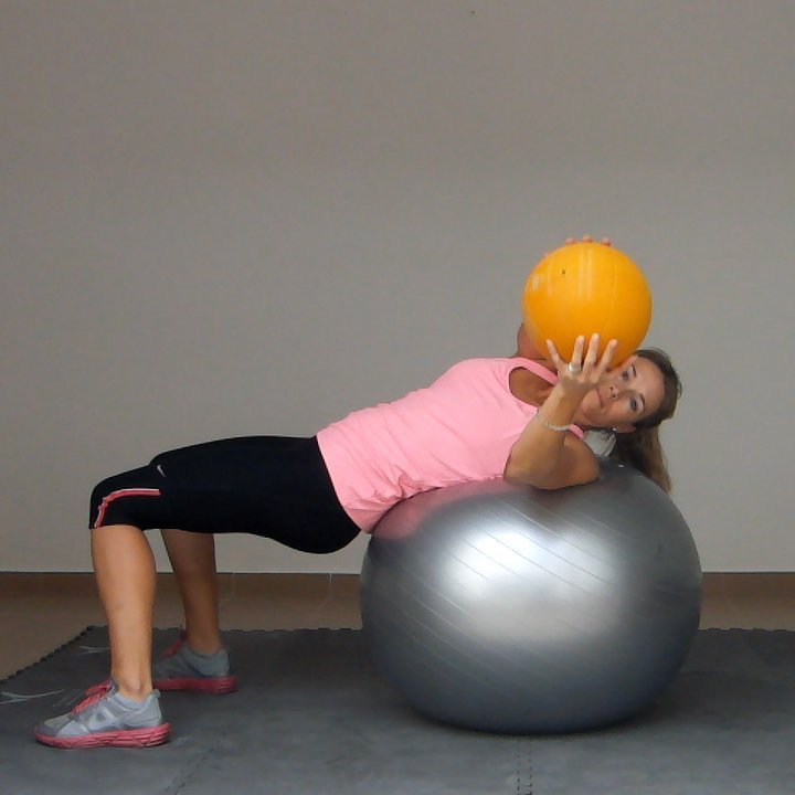 Core Rotation On An Exercise Ball Golf Loopy Play Your