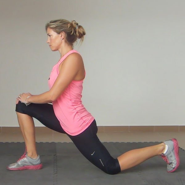 hip flexor pain front squat