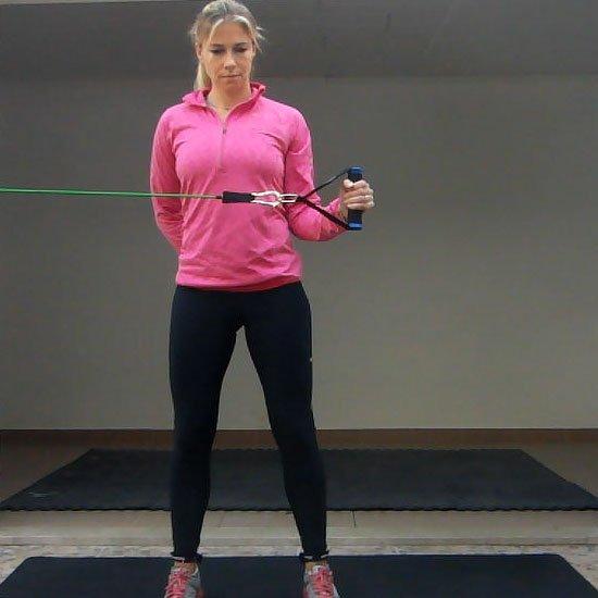 Shoulder External Rotation (Band) Exercise